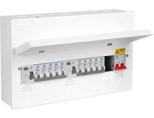New Metal Consumer Unit by CED